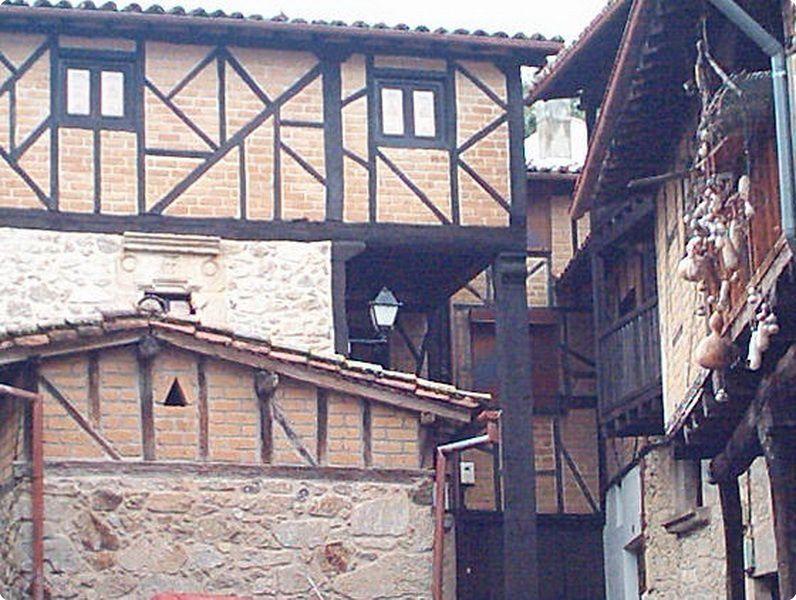 Construcción típica de la Vera